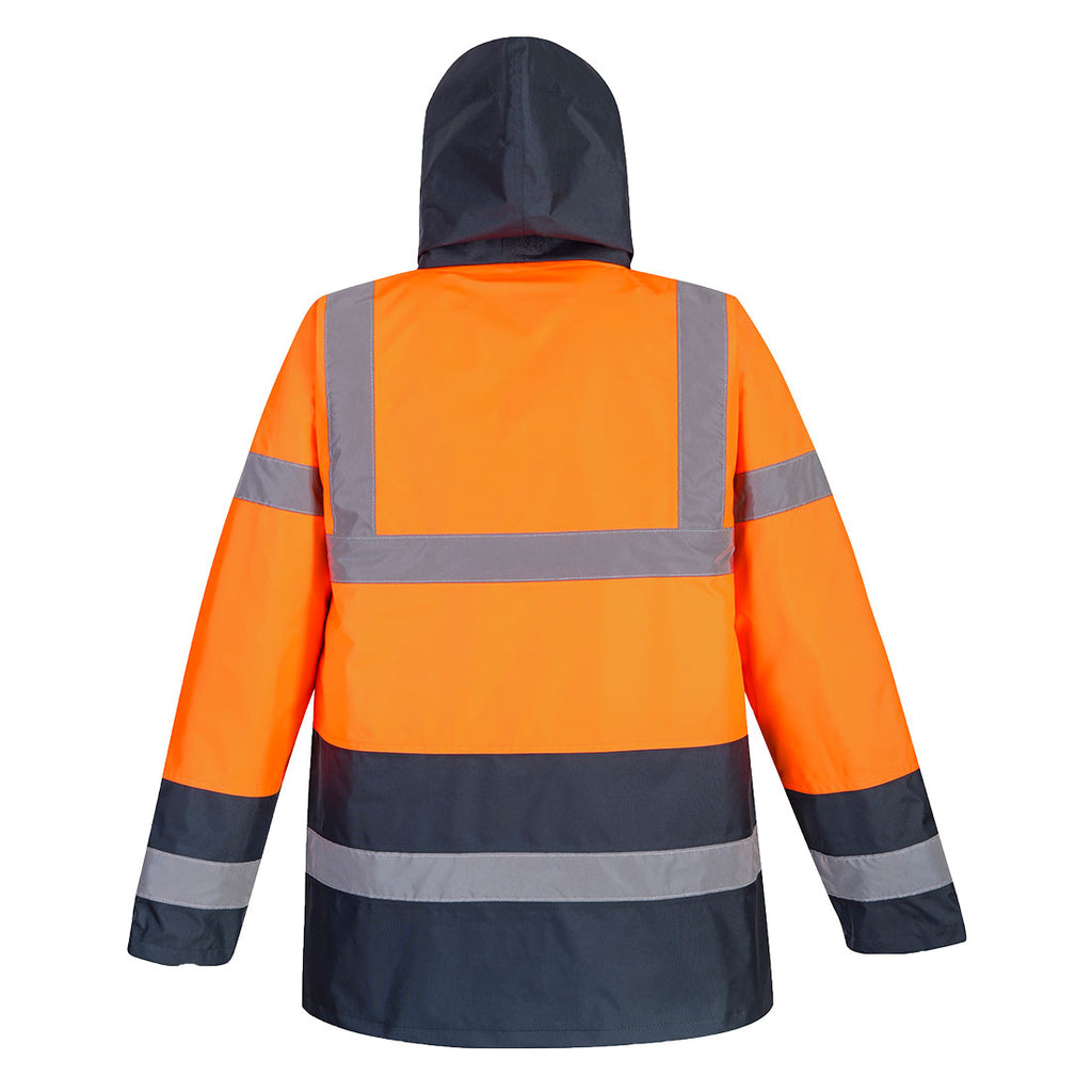 Portwest US467 Hi-Viz Class 3 Orange Parka