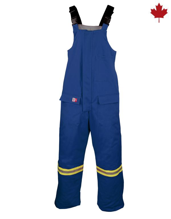 Big Bill Artic Bib Overall Insulated With Reflective Stripes #M905US7