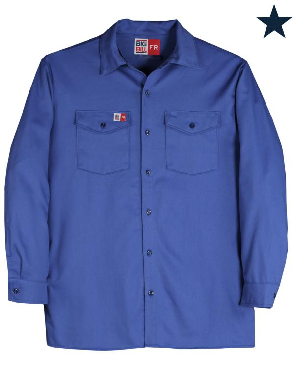 Big Bill FR Ultra Soft Industrial Work Shirt #TX231US7