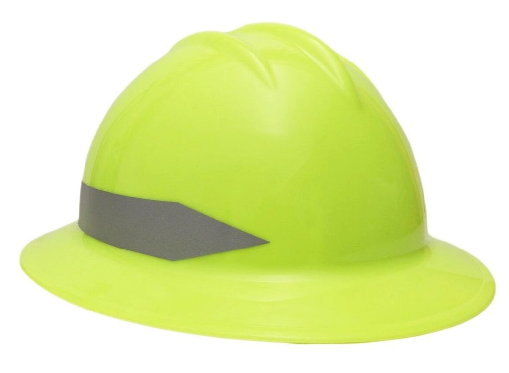Bullard C34 Fullbrim Hard Hat with Reflective Striping