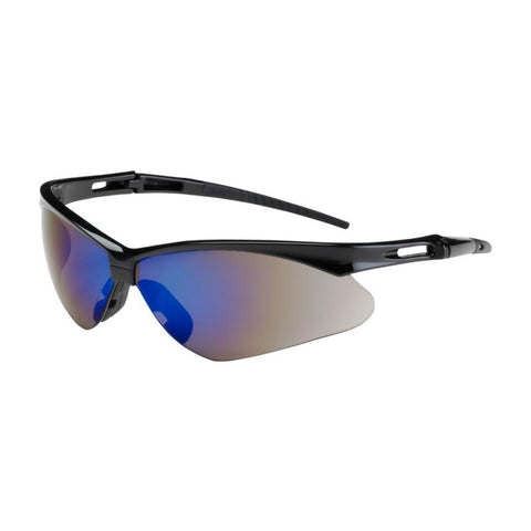 Nemesis Blue Mirror Lens Safety Glasses #14481