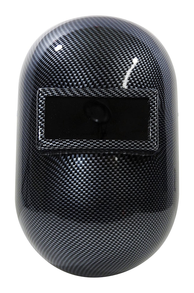HHG Custom Carbon Fiber Metal Welding Helmet #WH-CARBON (Hydro-dipped)