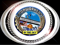Ironworkers Cowboys In The Sky Buckle