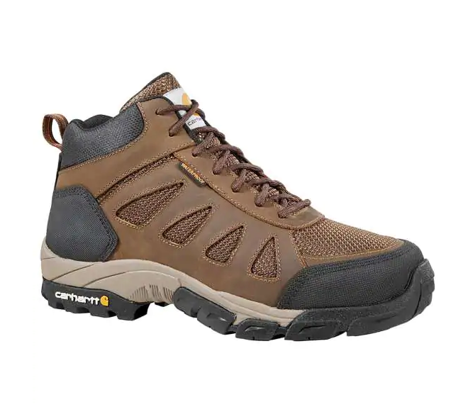 CARHARTT LIGHTWEIGHT CARBON NANO TOE WATERPROOF HIKER WORK BOOT