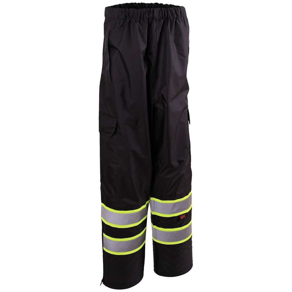 GSS Safety Contrast Series Class E Safety Rain Pants #6717