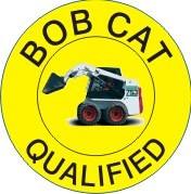 BOB CAT QUALIFIED HARD HAT MARKER HM-103