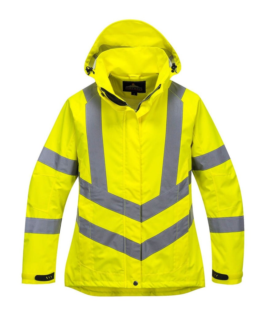 Portwest Ladies Hi-Vis Breathable Jacket (LW70)
