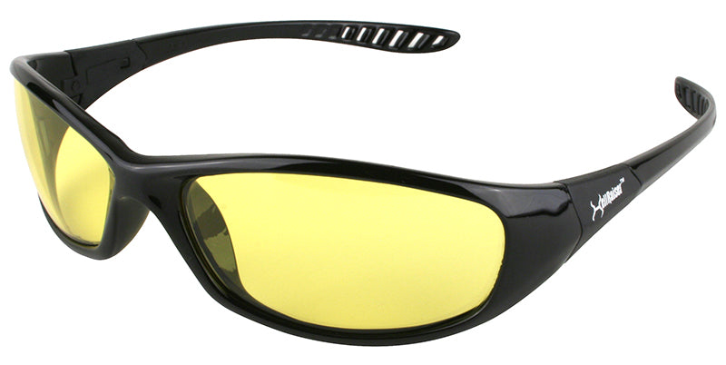 Hellraiser Amber Lens Safety Glasses #20541