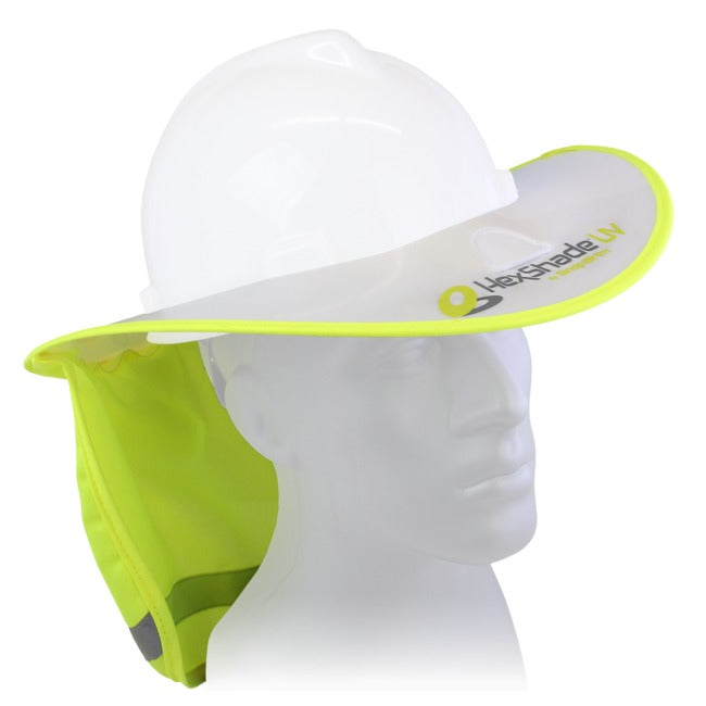 HexShade UV SPF 50 Sun Shade for full brim hard hats