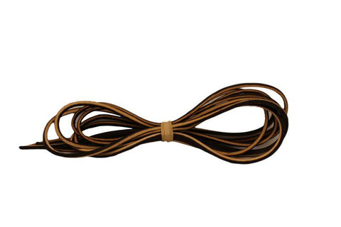 Genuine Leather Boot Laces
