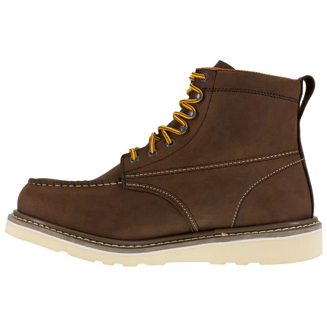 Iron Age Reinforcer Mens Brown 6 Wedge Work Boot IA5061