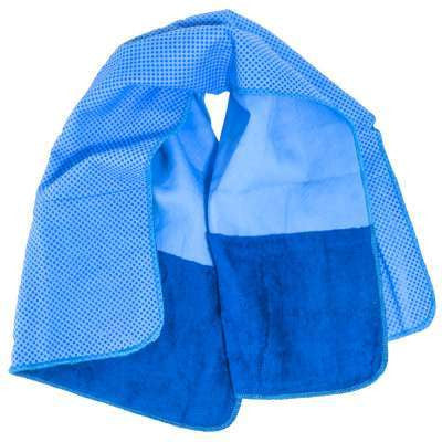 Miracool  Blue 2-In-1 Multifunctional Cooling Towel