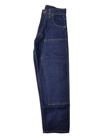 Prison Blues Rinsed Blue Double Knee Work Jean #1231211