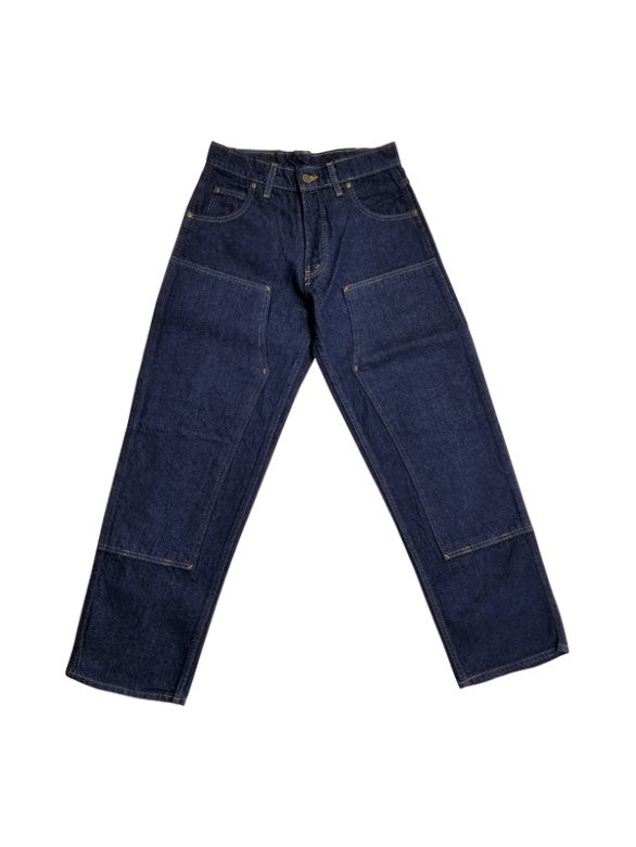 Prison Blues Rinsed Blue Double Knee Work Jean 1231211