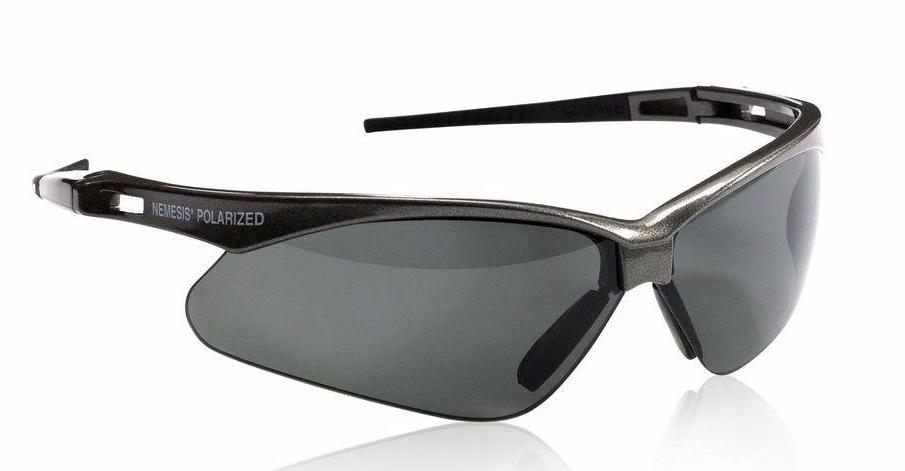 Nemesis Smoke Lens V30 Polarized Safety Glasses #28635