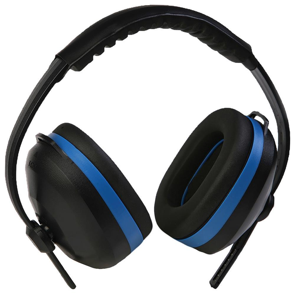 ERB Black/Blue Earmuff #14234