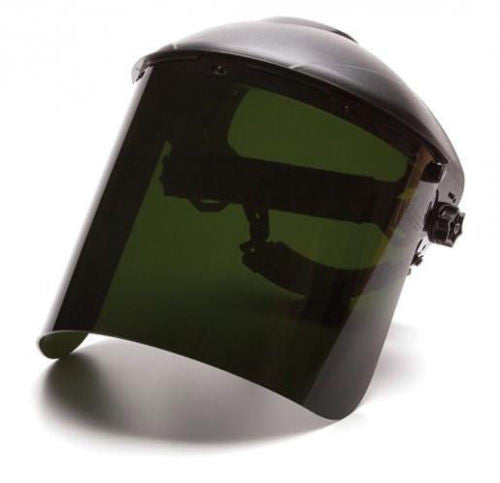Pyramex IR5 Molded Poly Carbonated Cylinder Face Shield #S1250