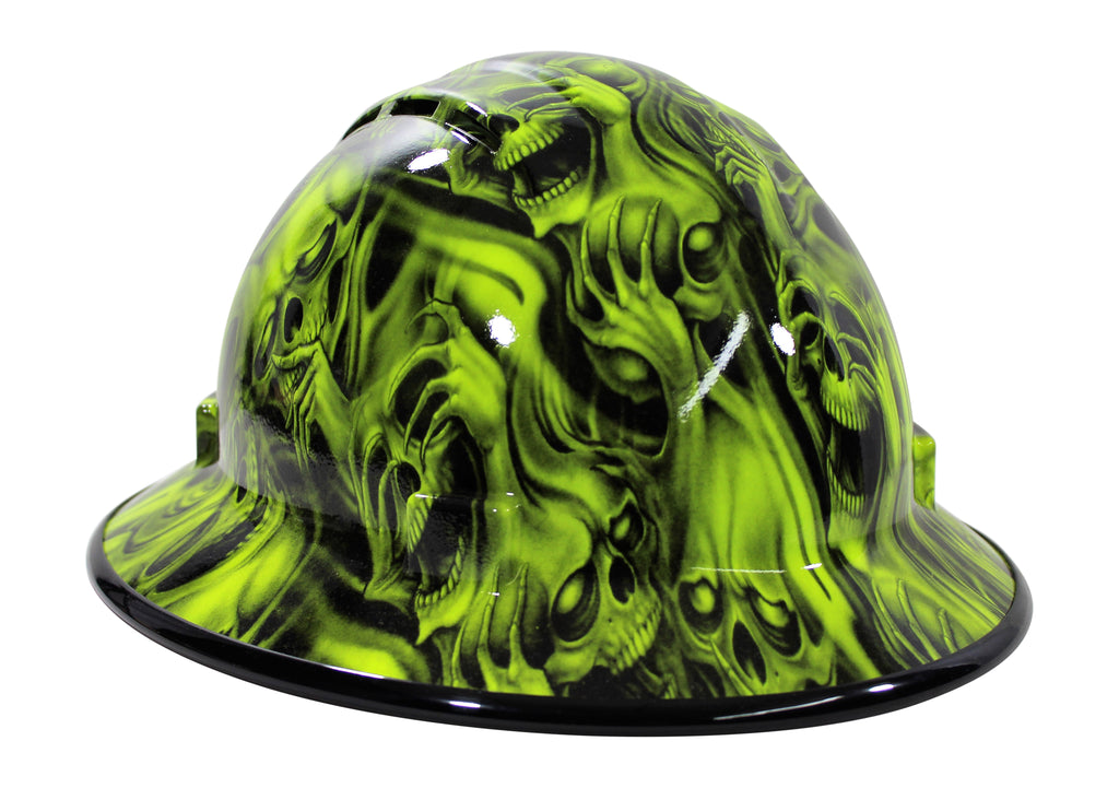 Custom printed hard hat at hard hat gear