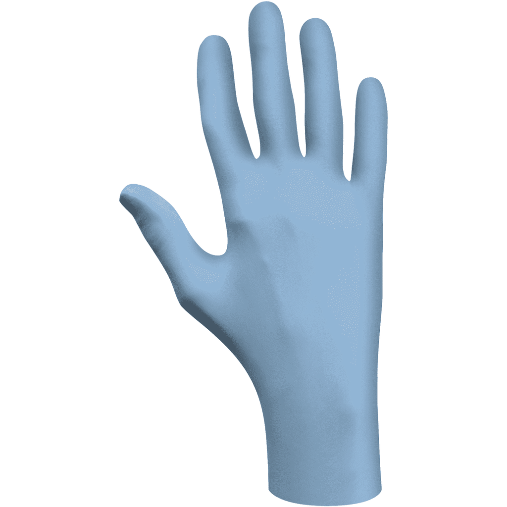 Showa Best Industrial Grade Disposable, Blue, Ambidextrous, Nitrile Gloves #7005