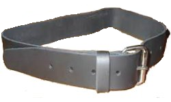 "2"" Light Duty Leather Belt by Hardhatgear"