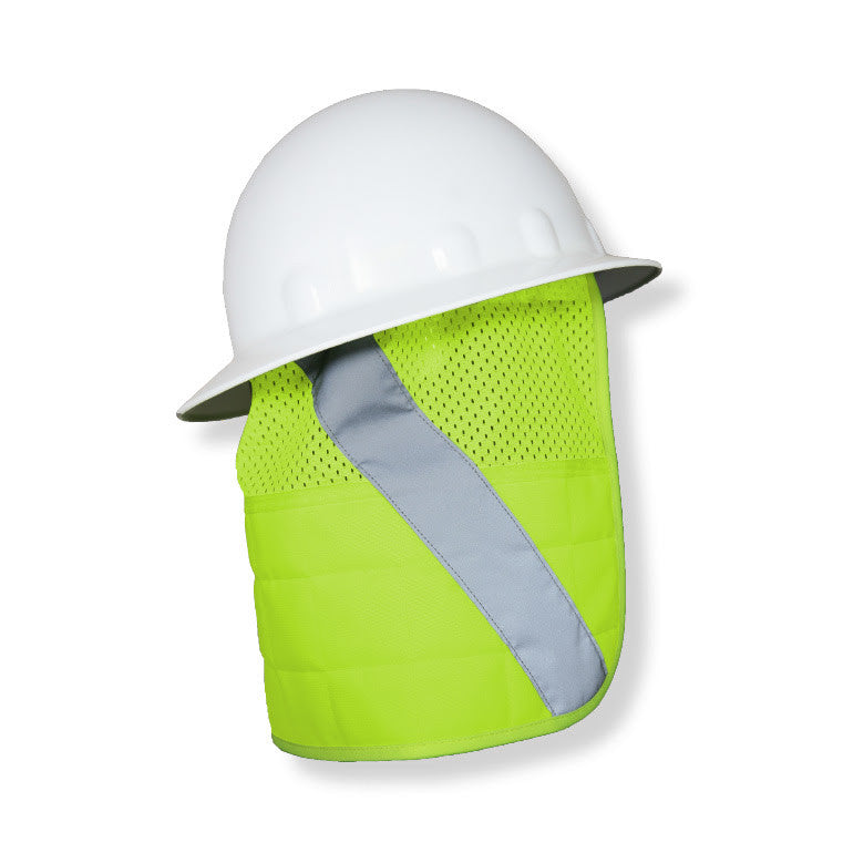 ML Kishigo Lime Brisk Cooling Hard Hat Nape Protector #1622