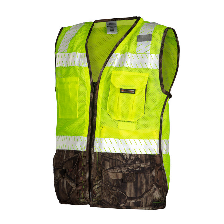 ML Kishigo Premium Heavy Duty Camo Trim Vest #1523