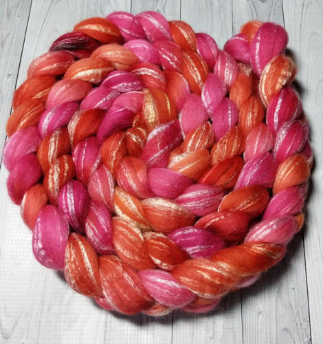 Tequila Sunrise, Merino/Bamboo Top
