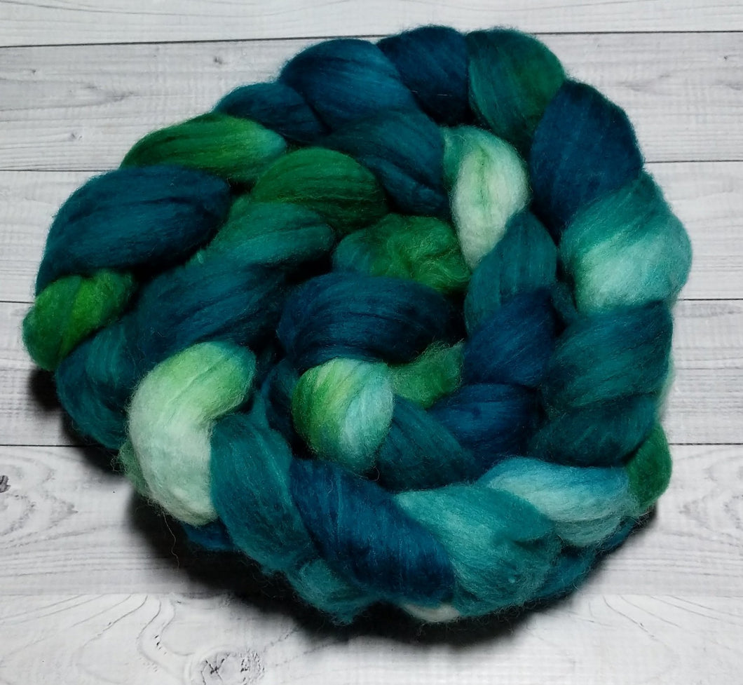 Emerald, Sock Blend Combed Top
