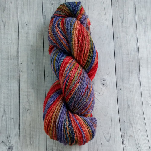 Water Lily Pond, Hand Spun Yarn