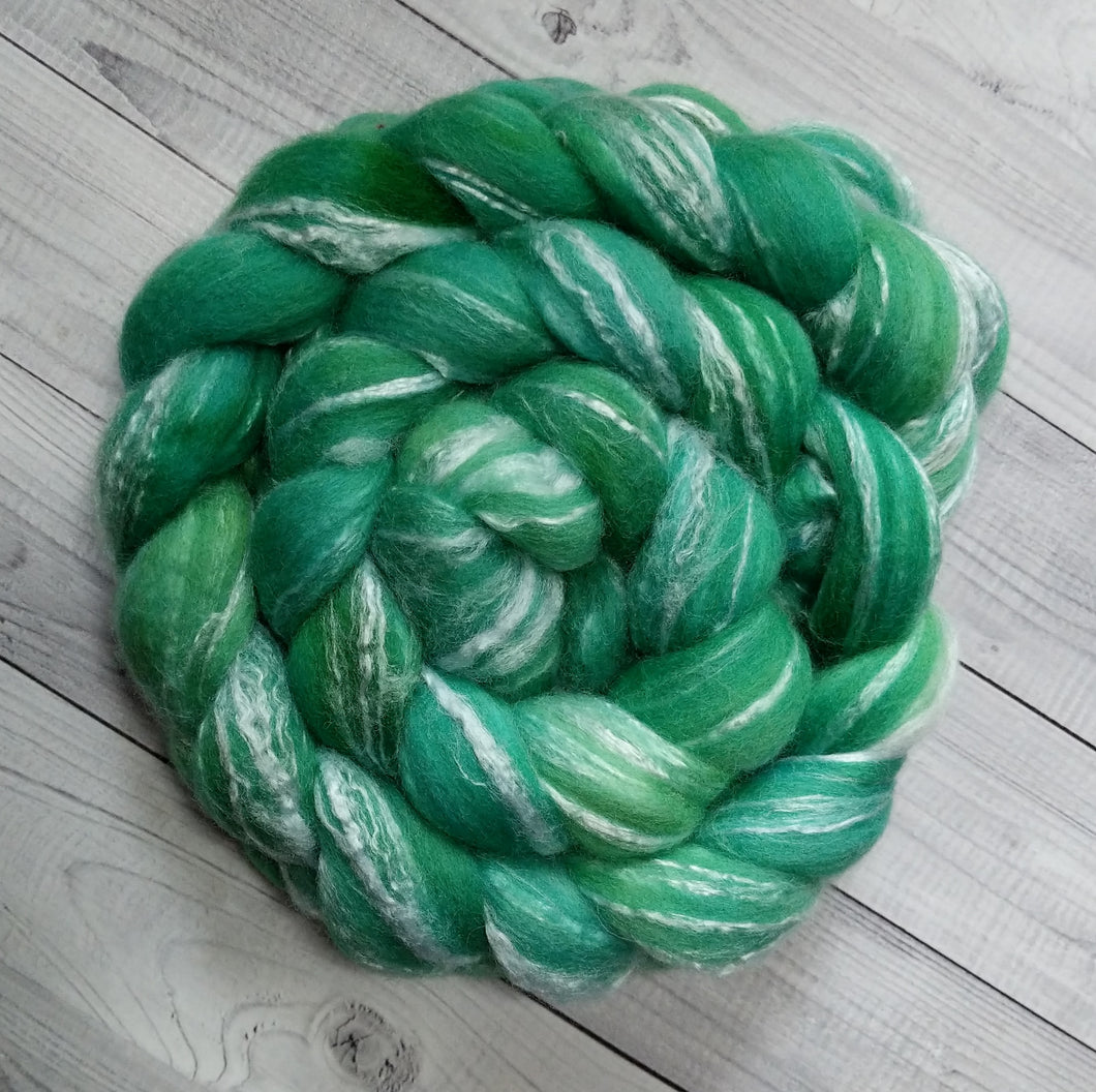 Irish Spring, Merino/Bamboo Top, 5 ounce, dyed to order