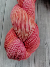 Rose Gold, Polwarth Sock/Shawl