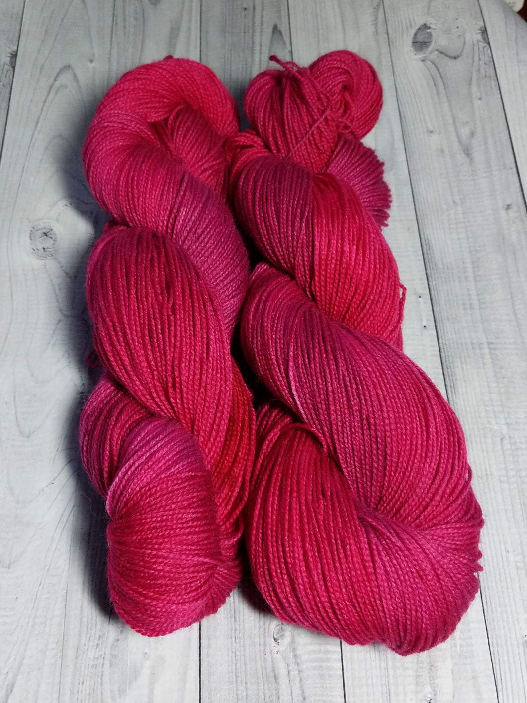 Ruby Corundrum, BFL High Twist
