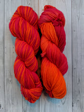 Tangerine Dreams, Worsted Weight Merino,
