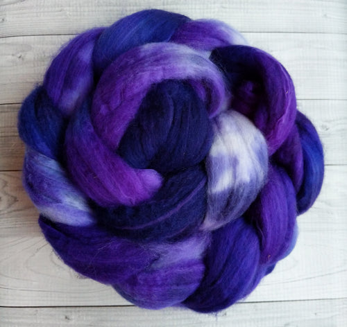 Perfectly Purple, Sock Blend Combed Top