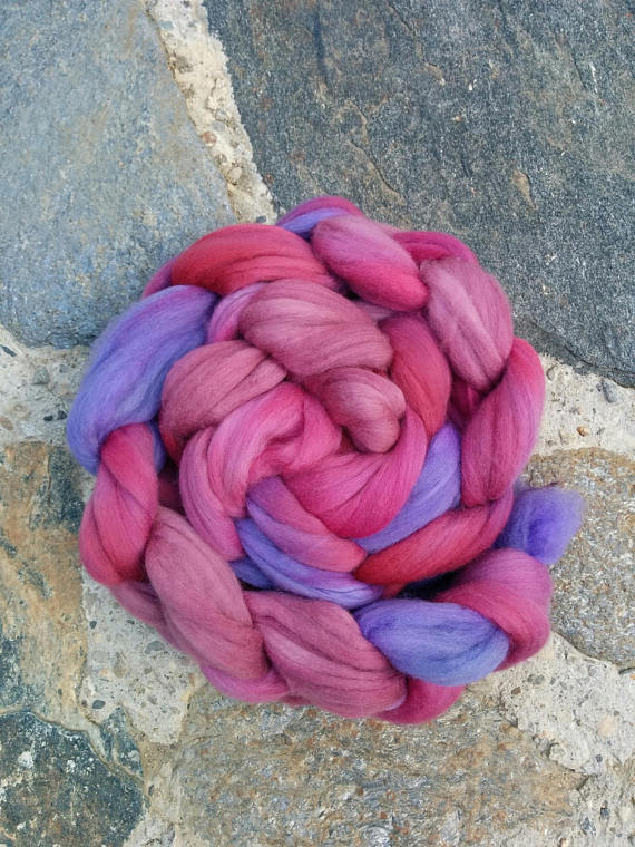 Berry Delight, Merino Combed Top