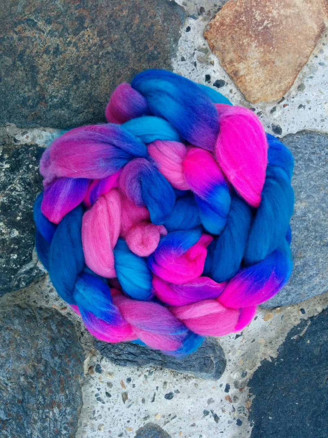 Cotton Candy, Merino Combed Top