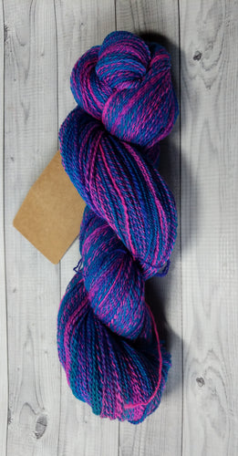 Cotton Candy, Hand Spun Yarn
