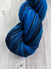 Covellite, Polwarth Sock/Shawl