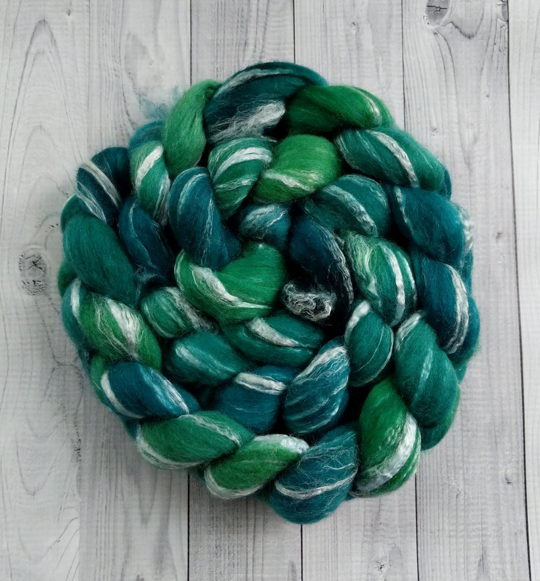 Emerald, Merino/Bamboo Top, 5 oz