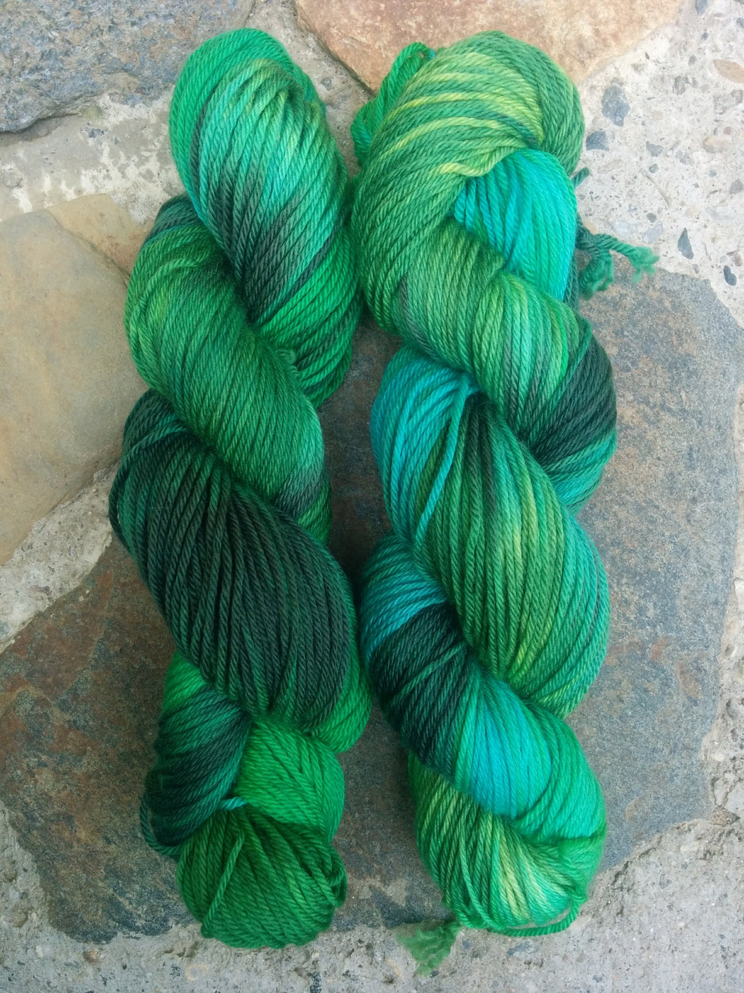 Emerald, Worsted Weight Merino,
