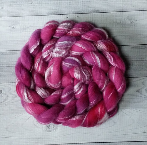 Erythrite, Merino/Bamboo Top, 5 ounce, dyed to order
