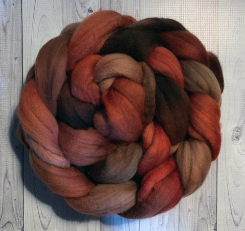Fall Foliage, Merino Combed Top
