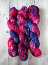 Fuchsia, Gemstones Sock