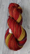 Gold to Purple, Gradient, Hand Spun