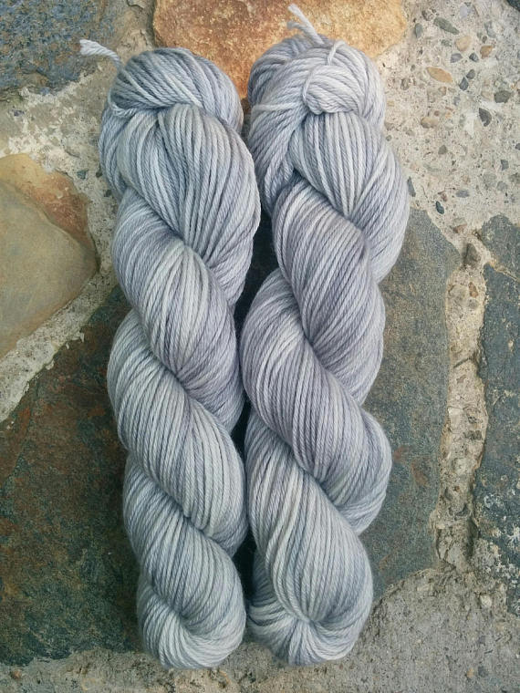Granite, Worsted Weight Merino,