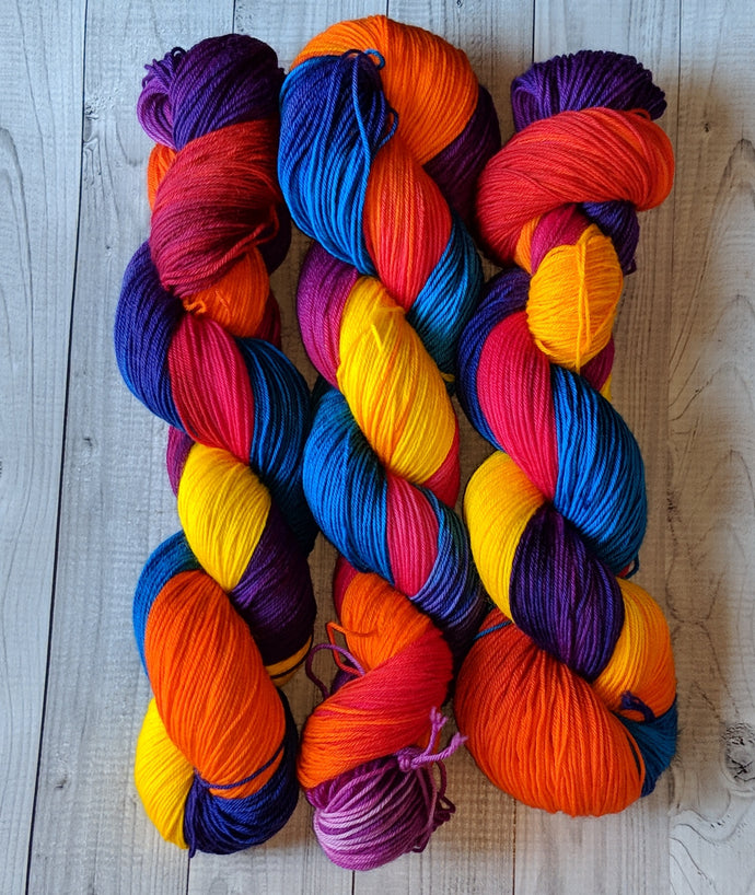 Island Sunset, Gemstones Sock