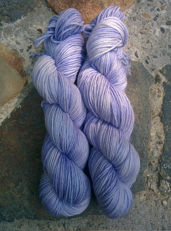 Kyanite, Worsted Weight Merino,
