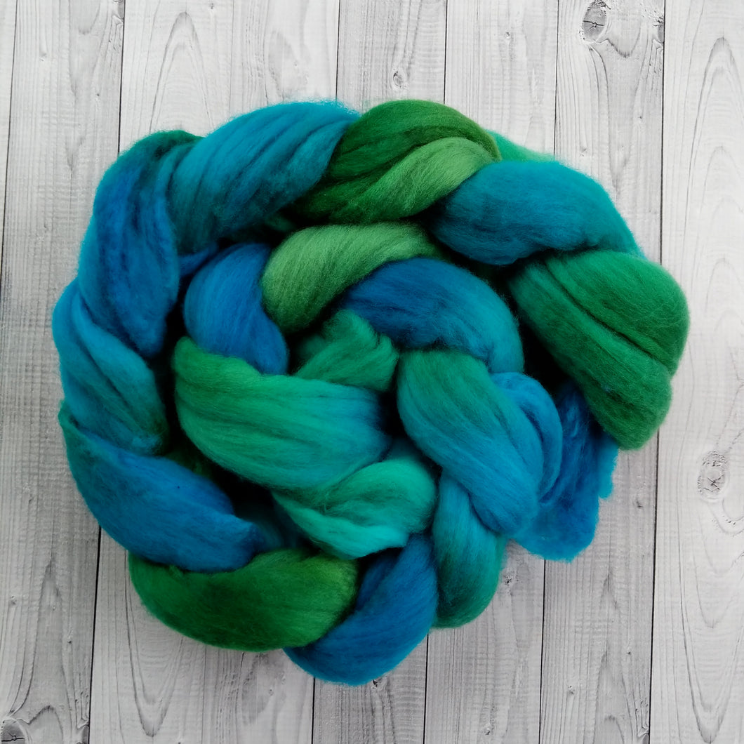 Malachite, Merino Combed Top