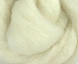 Natural, Polwarth Combed Top