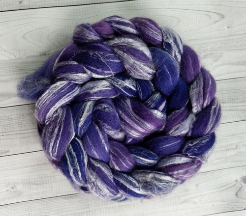 Perfectly Purple, Merino/Bamboo Top